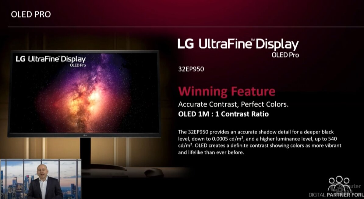 LG UltraFine OLED Pro Monitore