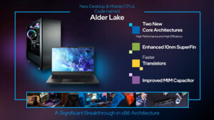 Alder Lake im Notebook: Intels Hybrid-CPU mit 5 bis 55 Watt in 19 Varianten