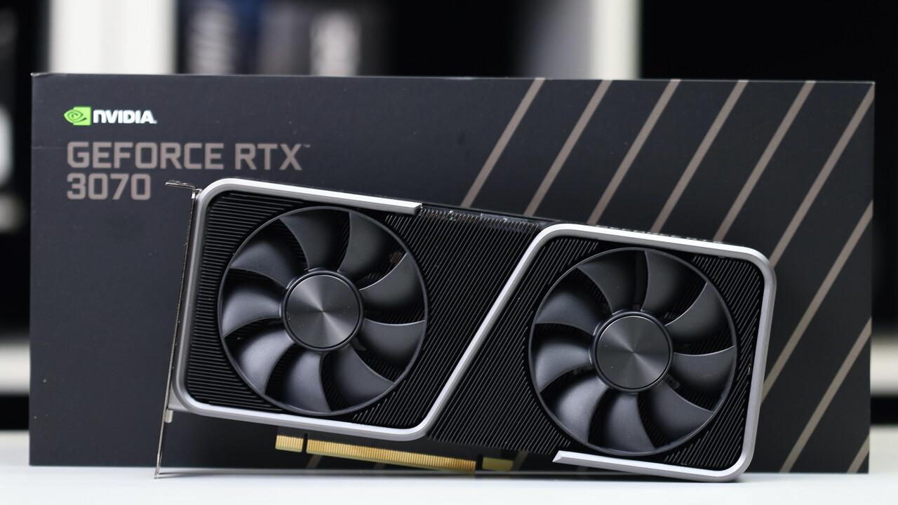 Nvidia GeForce RTX 3070: Modder kombiniert GA104 mit 16 GB GDDR6 - ComputerBase