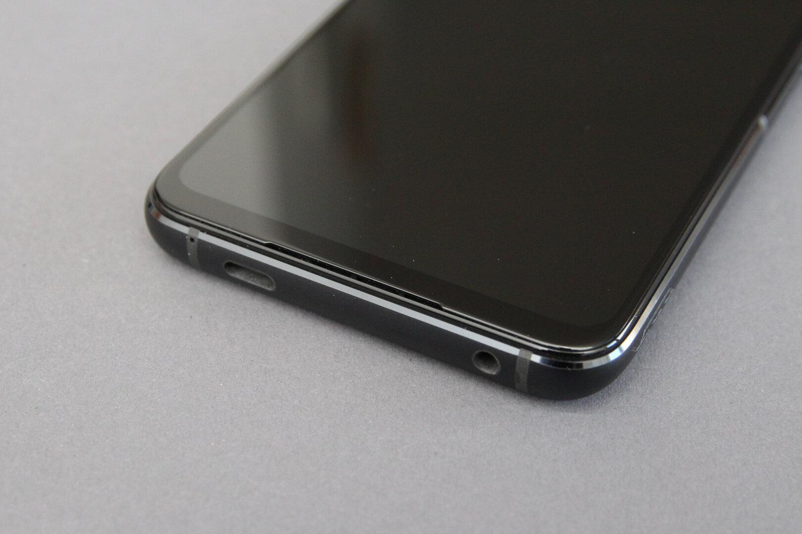 Asus ROG Phone 5: USB-C und Klinke an der Unterseite