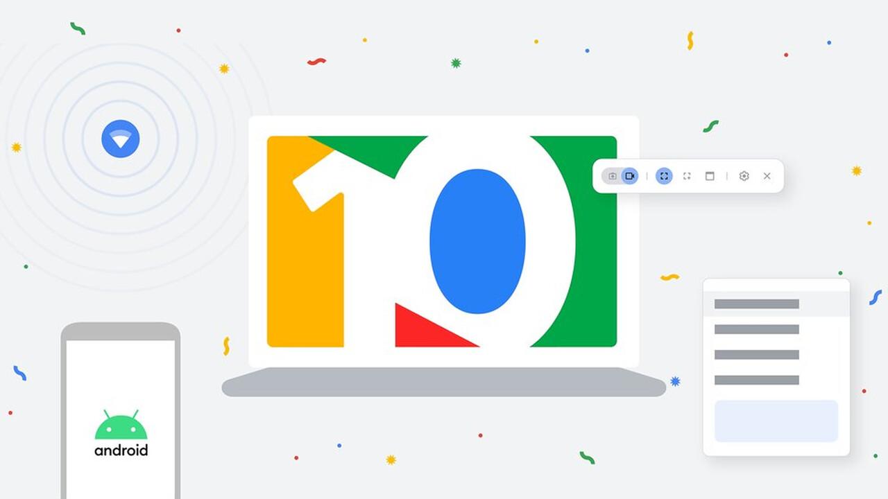 10 Jahre Chromebook: Google feiert mit neuen Features für Chrome OS