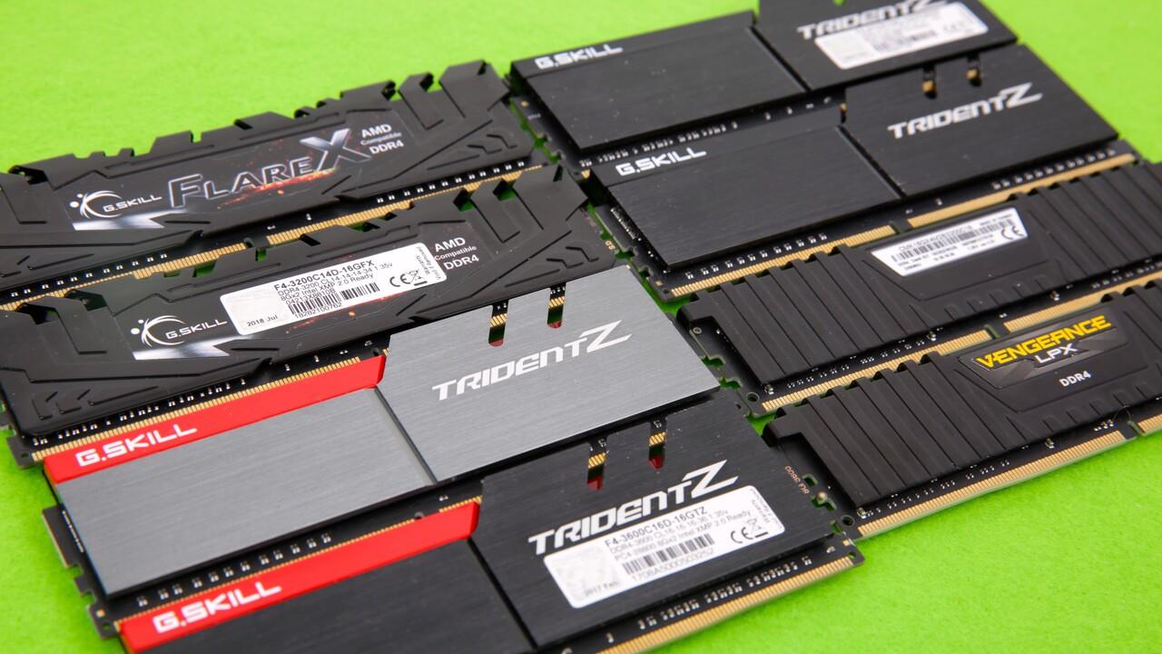 RAM-Preise steigen: DDR4-Speicher zieht im Preis (deutlich) an