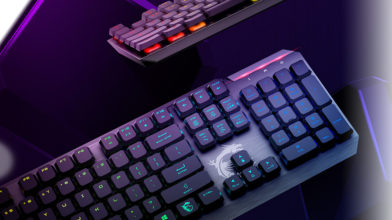 Gaming-Peripherie: Tastaturen, Mäuse und Headsets für Spieler von MSI [Anzeige]