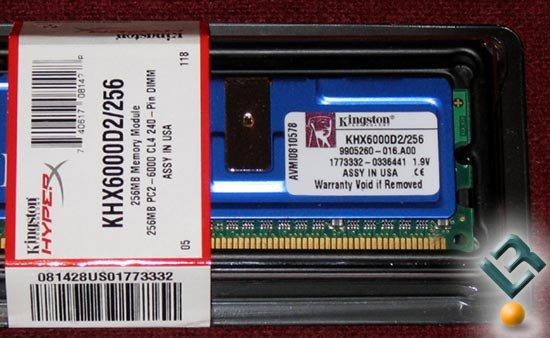 Kingston HyperX PC2-6000