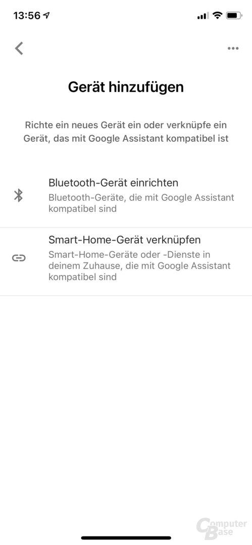 Konfiguration der Arlo Video Doorbell mit dem Google Assistant