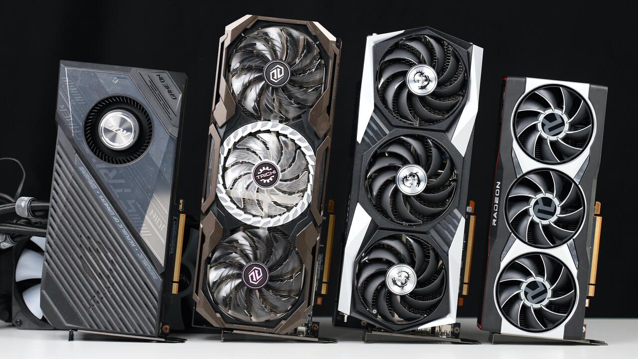 Radeon RX 6800 XT Customs im Test: ASRock Taichi vs. Asus ROG Strix Liquid vs. MSI Gaming X