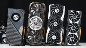Radeon RX 6800 XT Customs im Test: ASRock Taichi vs. Asus ROG Strix Liquid vs. MSI Gaming X