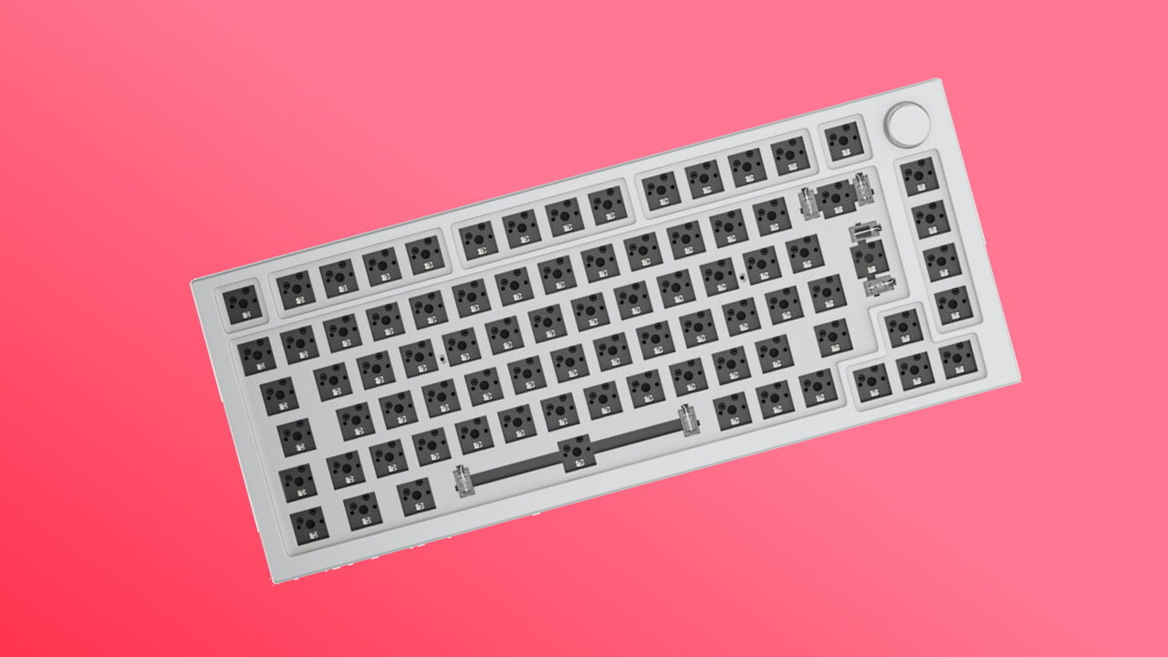Glorious GMMK Pro: Barebone-Tastatur wird ohne Taster geliefert - ComputerBase