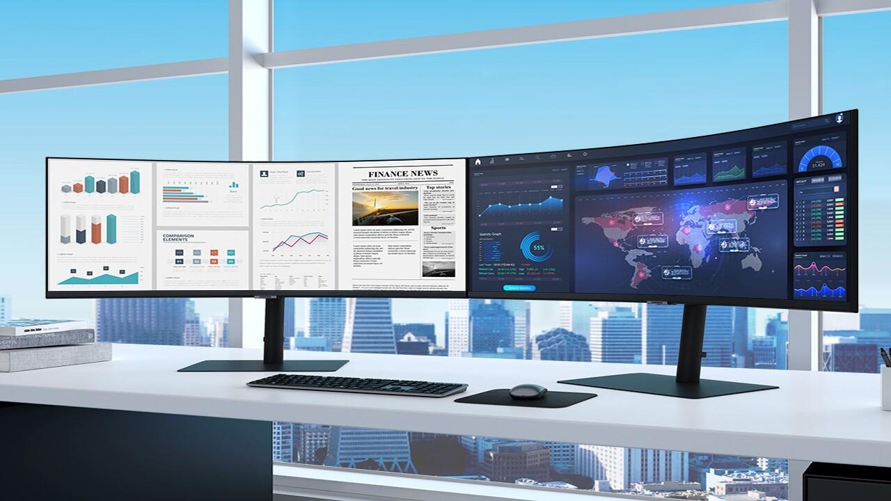 Samsung S34A650: Sehr krummer UWQHD-Monitor mit 100 Hz und USB-C - ComputerBase