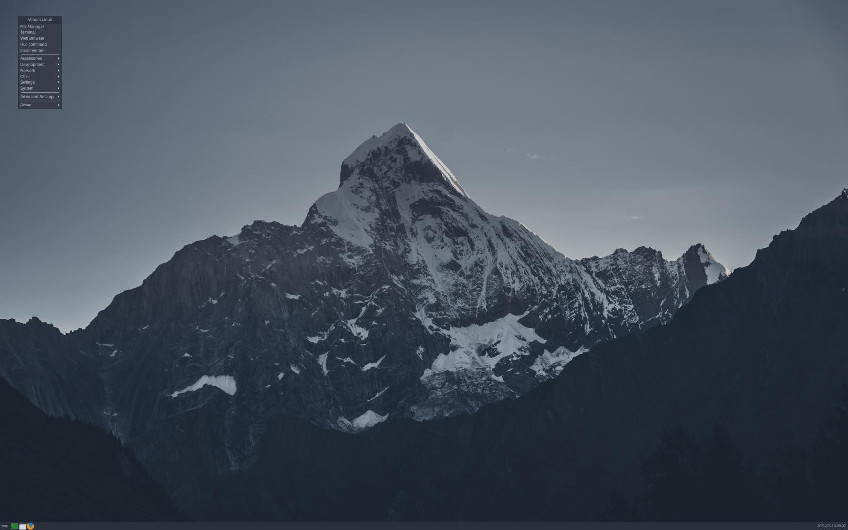Venom Linux mit Openbox 3.6.1