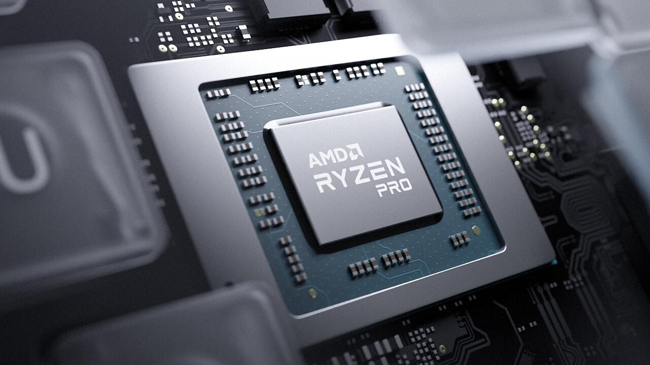 AMD Ryzen Pro: 5000-Serie mit Zen 3 und 15 Watt für kommerzielle Laptops