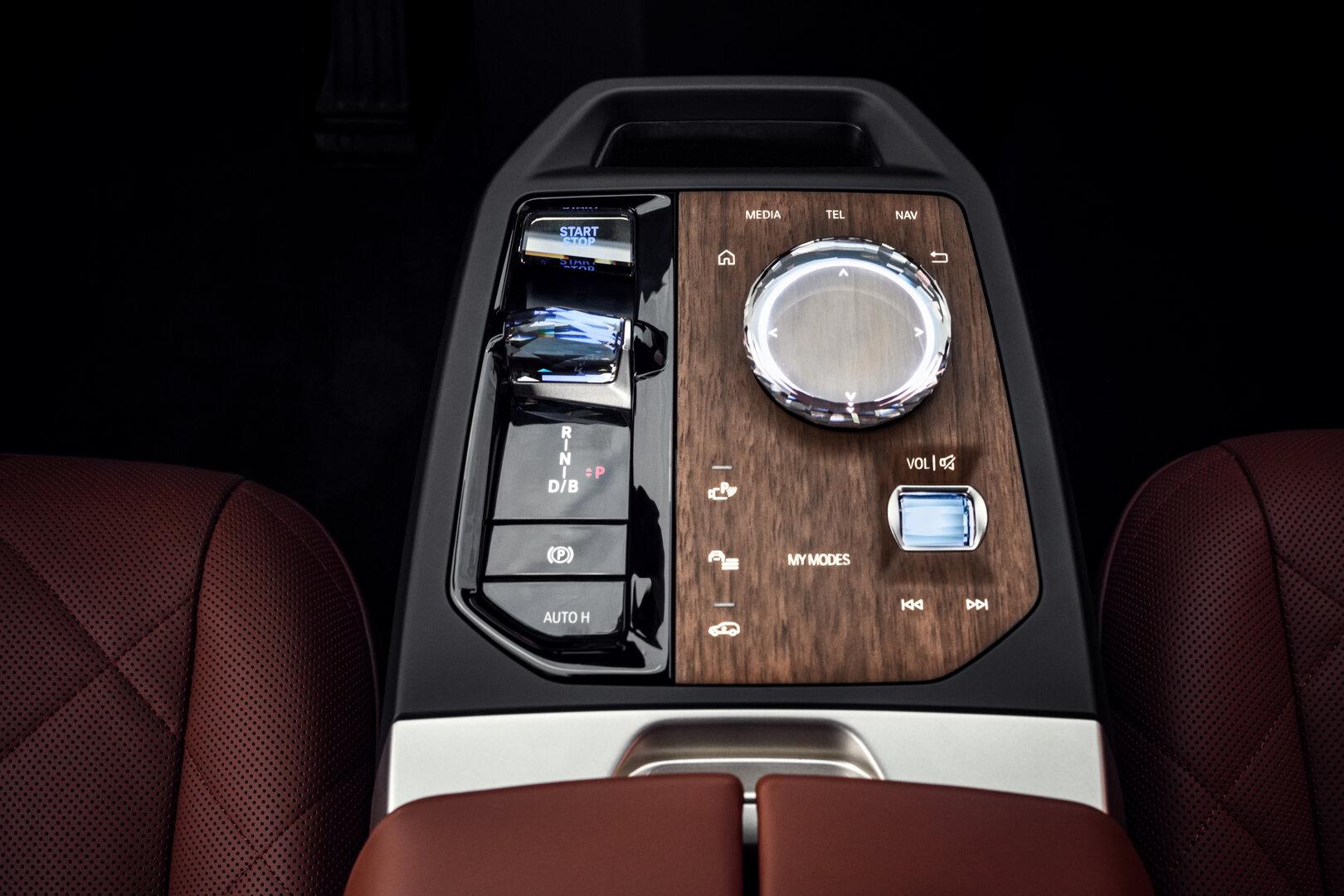 iDrive-Controller im BMW iX