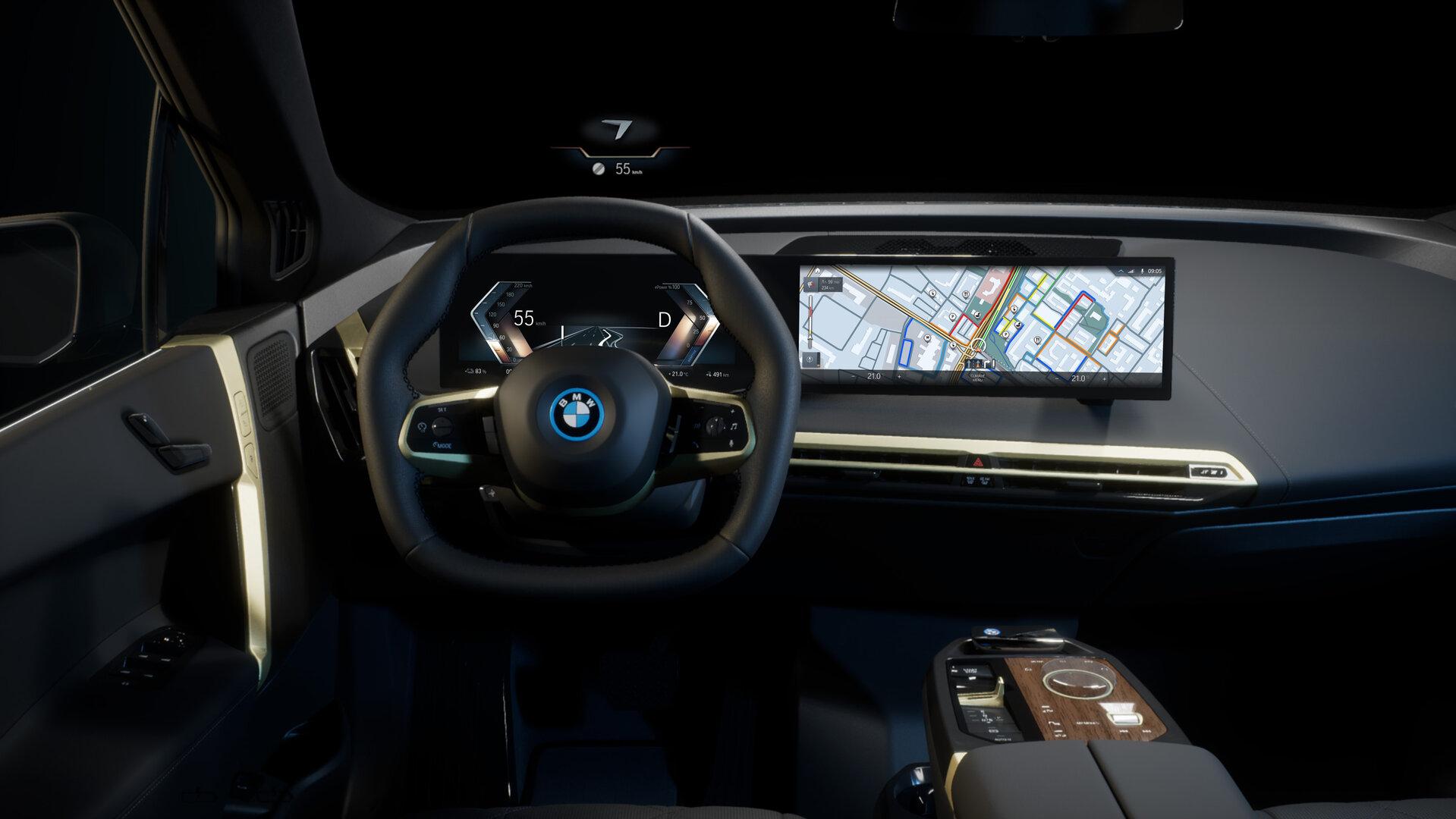 BMW iDrive im iX