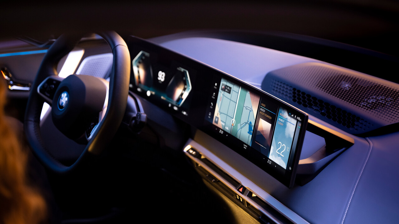 BMW iDrive: Operating System 8 startet Ende 2021 mit iX und i4