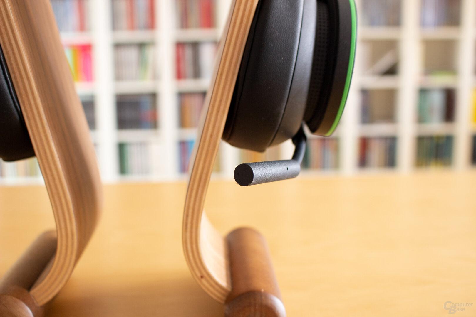 Das Mikrofon des Xbox Wireless Headset bietet nur eine dürftige Qualität