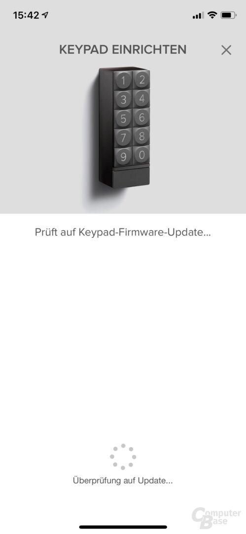 Einrichtung des Keypads für das Linus Smart Lock