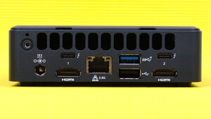 NUC 11 Pro im Test: Intels Mini-PC hat jetzt Xe-Leistung und beherrscht AV1