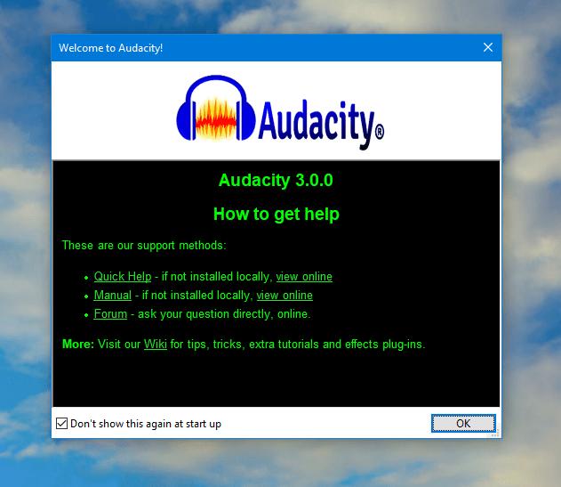 Audacity 3.0.0 ist das erste große Release seit langem