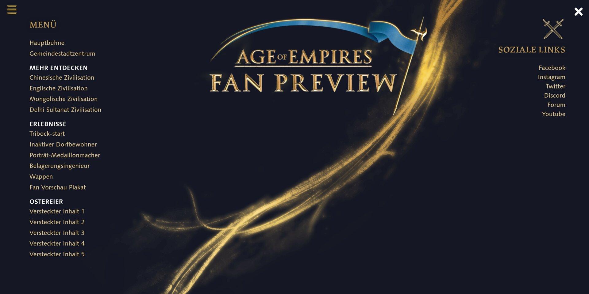 Age of Empires IV: Fan Vorschau Dorf