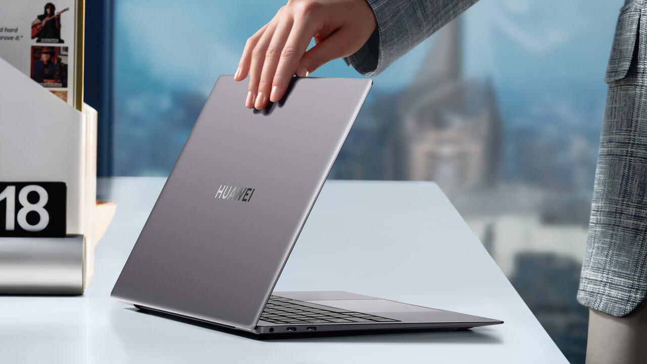 MateBook D 16: Huawei bringt AMD auf 16Zoll und ein Tiger-Lake-Update