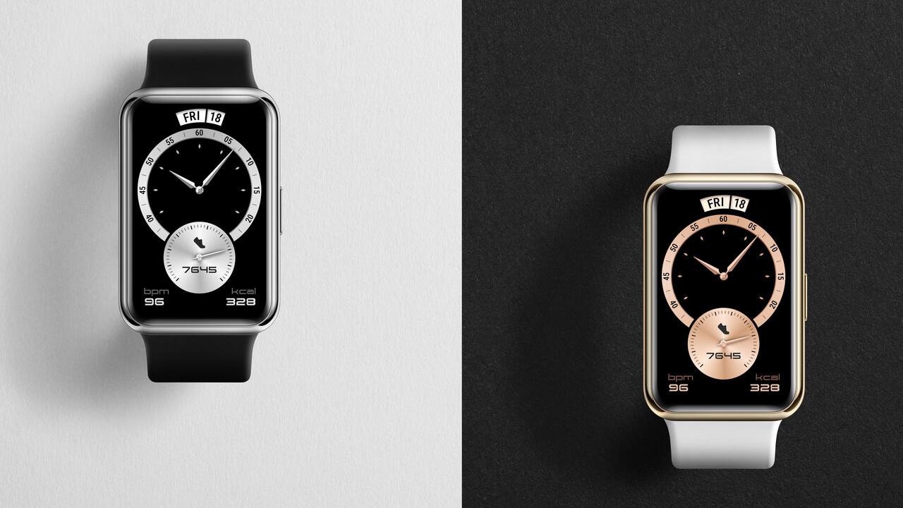 Huawei Smartwatch: Watch Fit Elegant und Band 6 als leichte sportliche Begleiter