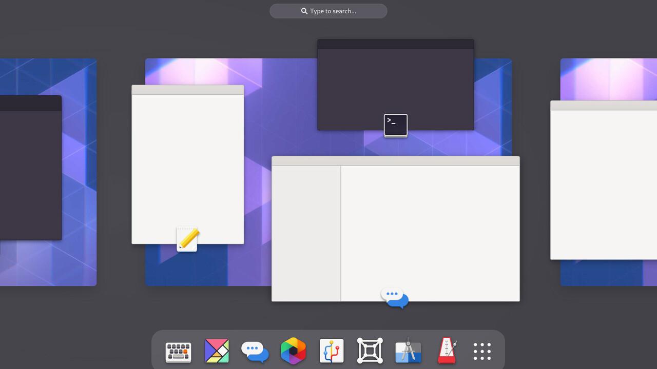 Gnome 40: Neue Shell UX für Linux offiziell erschienen