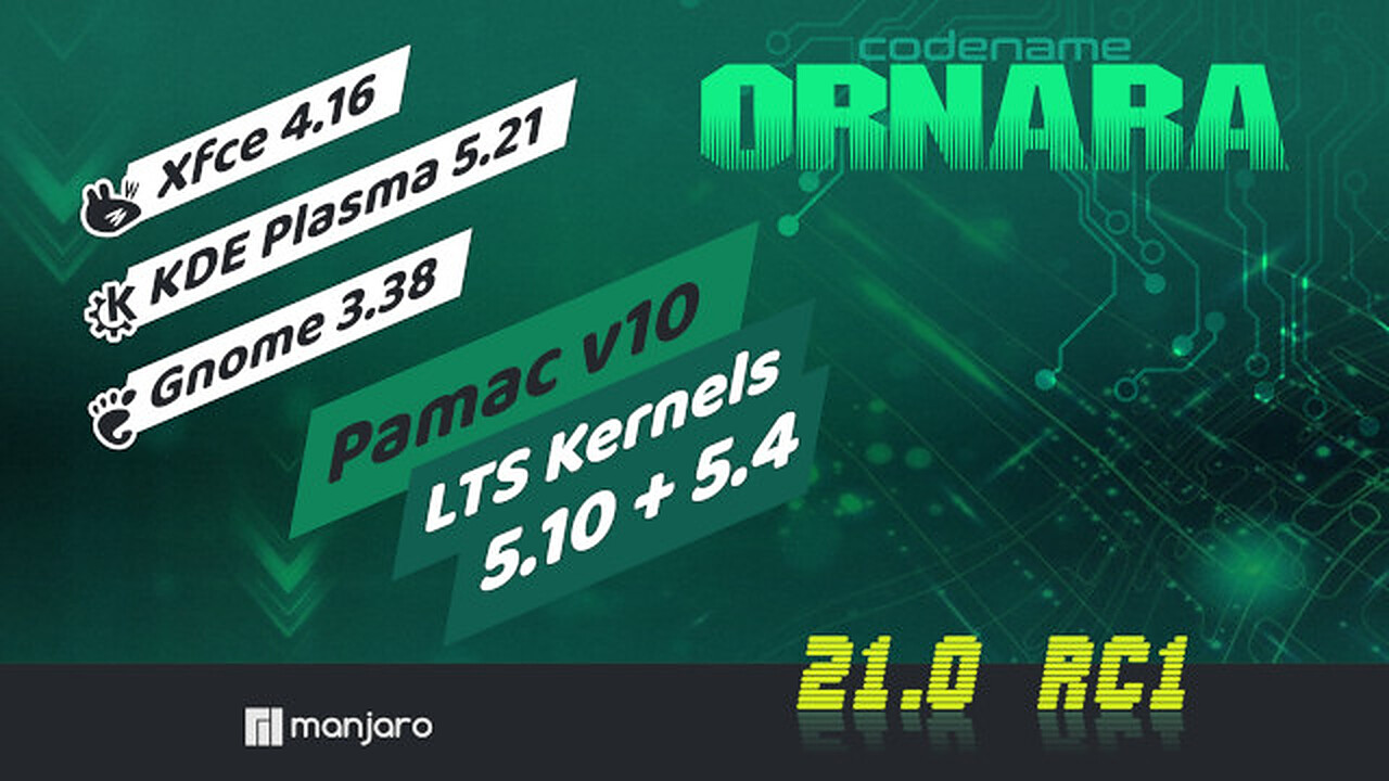 "Manjaro 21.0 (""Ornara""): Finales Release des Klassenprimus erschienen"