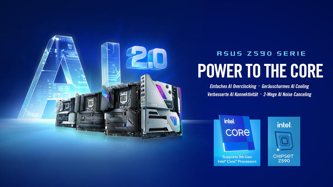 Für Intel Rocket Lake-S: Z590-Platinen von Asus mit Teamed Power Stages [Anzeige]
