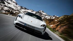 Porsche Taycan MJ 2020: Kostenloses Update für Fahrzeuge der ersten Stunde