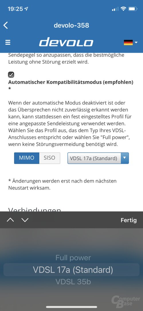 Devolo Home-Network-App mit Mesh WLAN 2