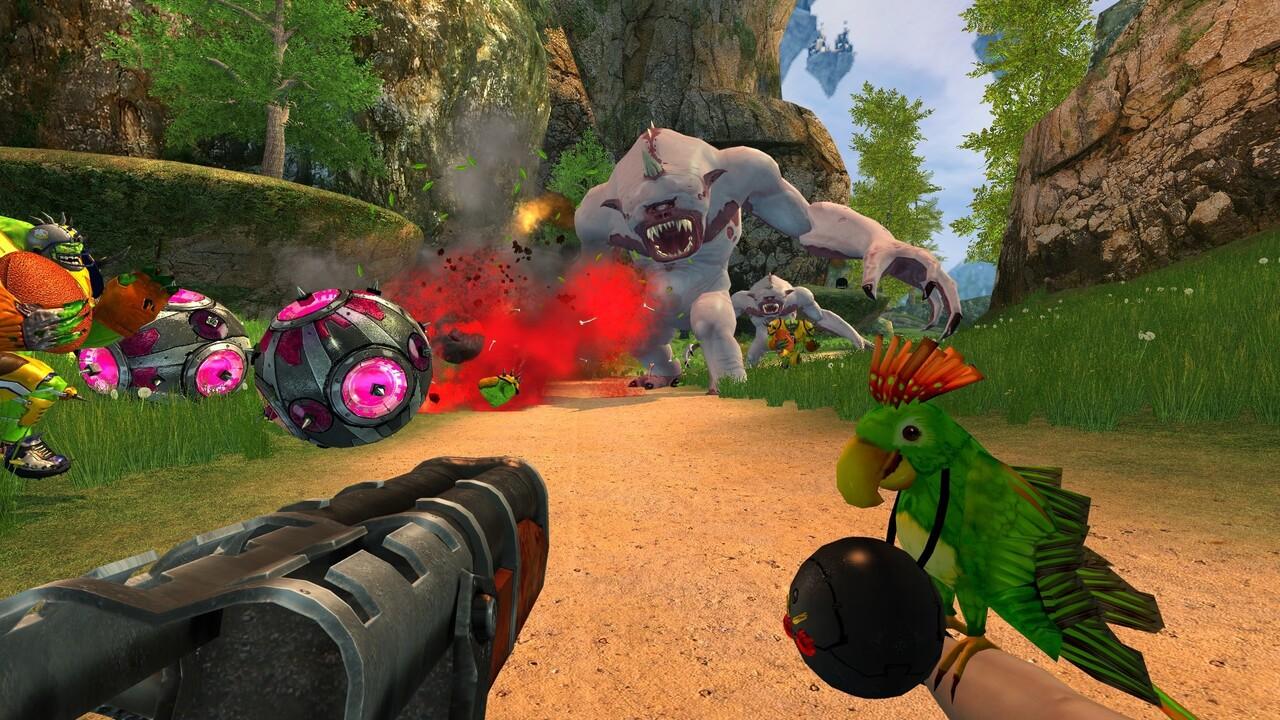 Überraschendes Update: Serious Sam 2 erhält neue Waffe, Karten und mehr