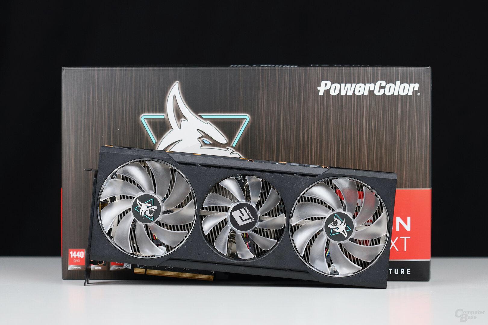 Die PowerColor Radeon RX 6700 XT Hellhound im Test