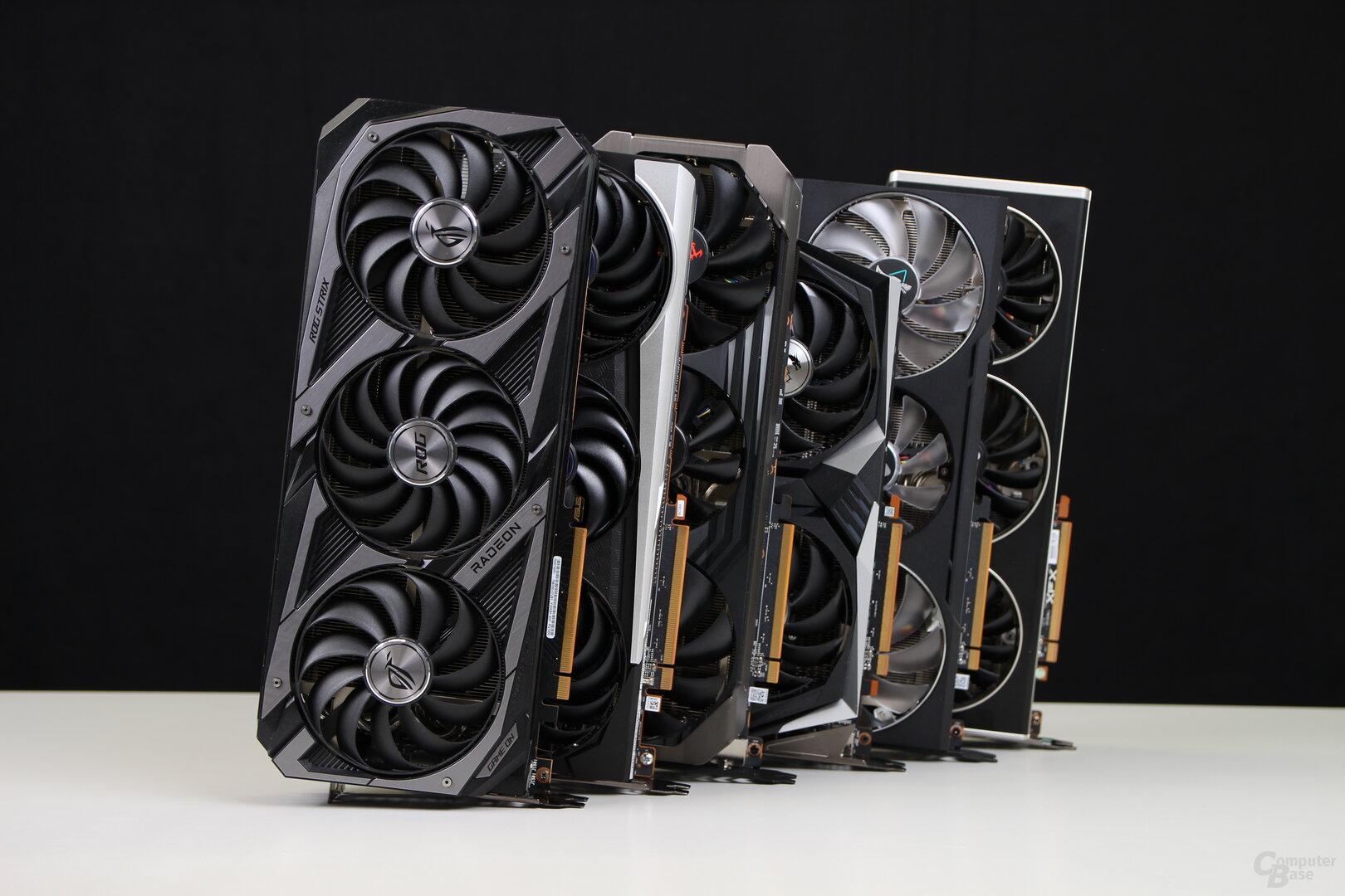 6 Custom-Designs der AMD Radeon RX 6700 XT im Vergleich