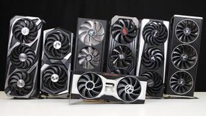 RX 6700 XT: Custom-Designs im Test: Asus, MSI, (2 ×) PowerColor, Sapphire und XFX im Vergleich