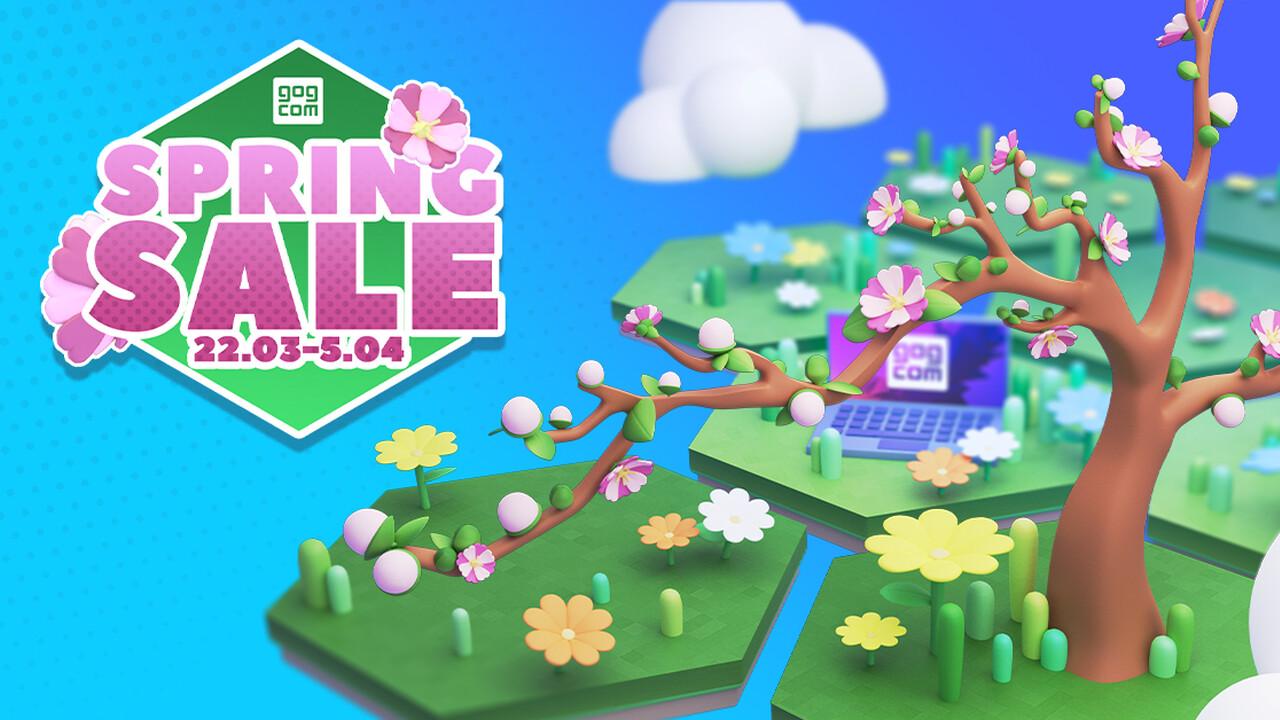 Spring Sale: GOG mit Rabatten und kostenlosen Demos