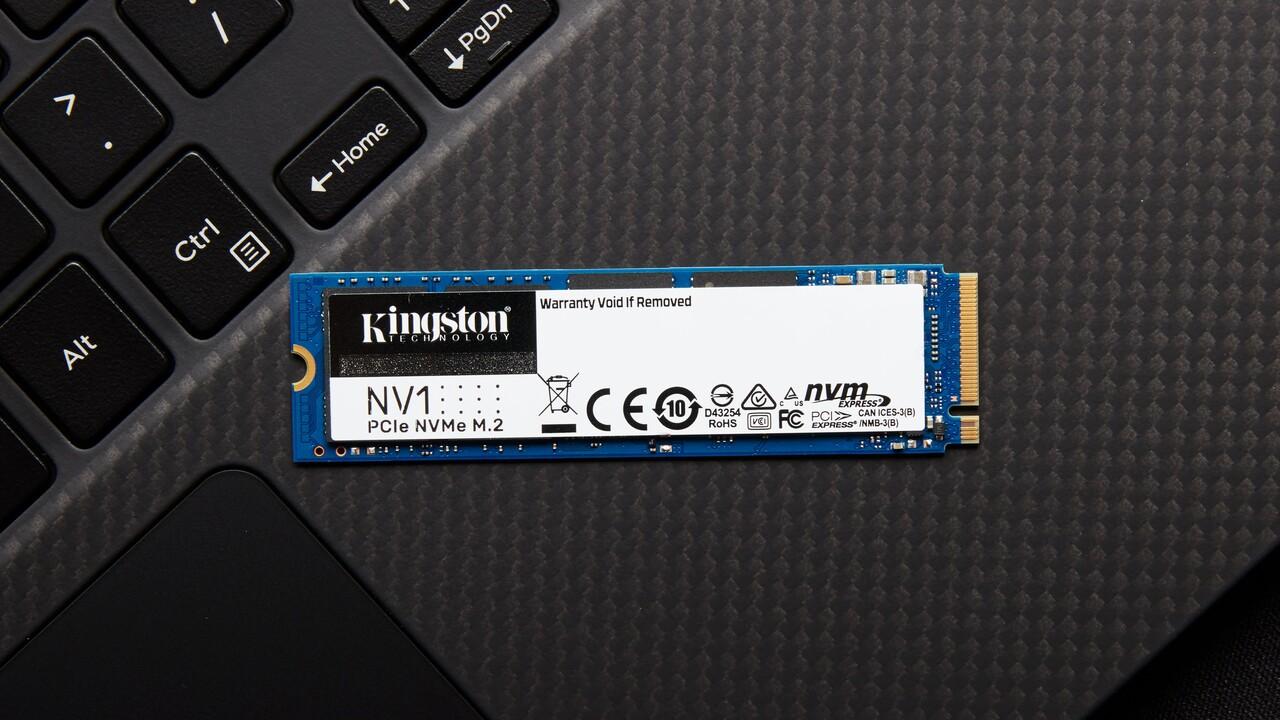 Kingston-SSDs: NV1 mit NVMe und KC600 als mSATA-Version vor Marktstart