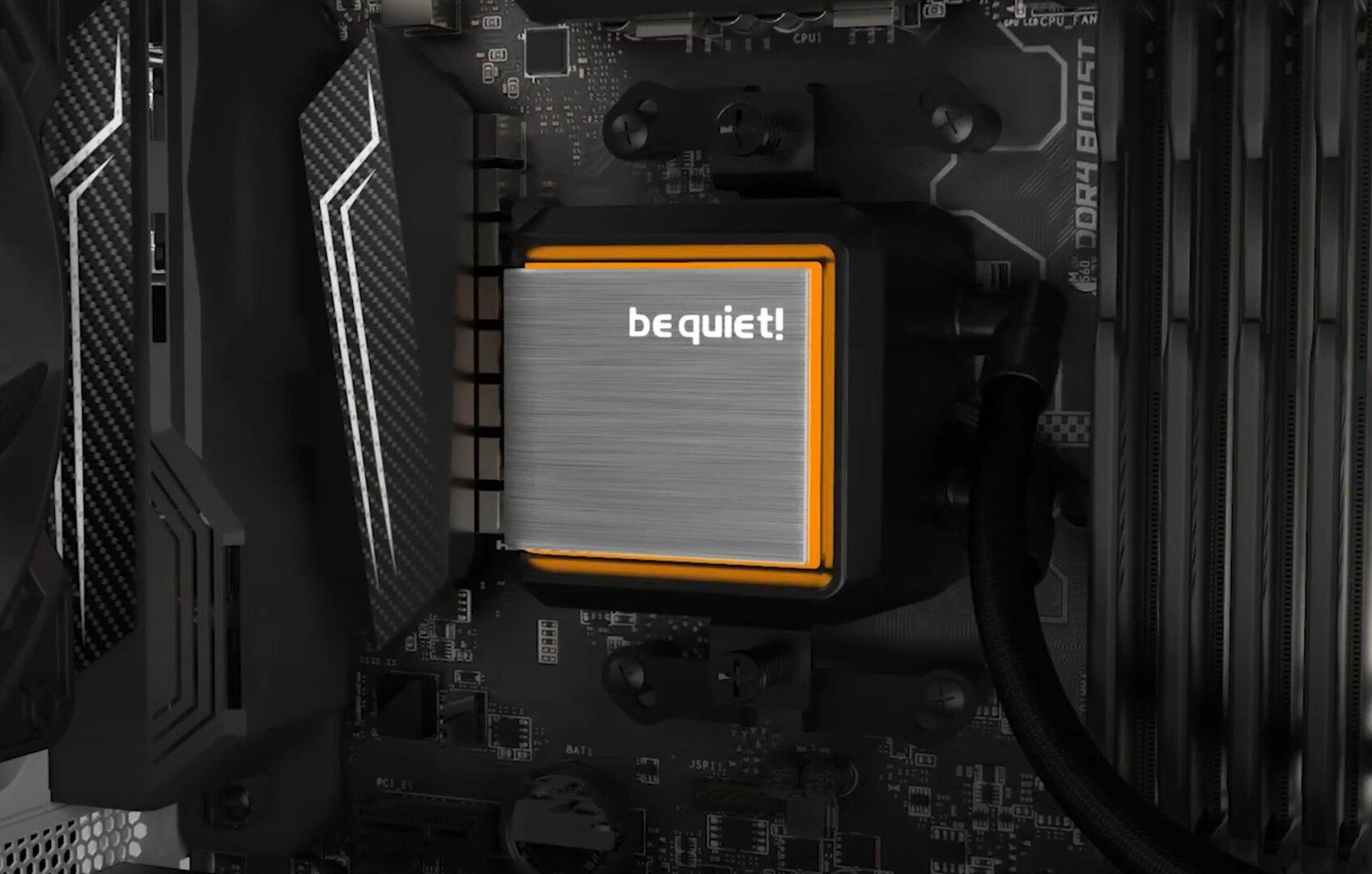 be quiet! Silent Loop 2 - RGB-Beleuchtung