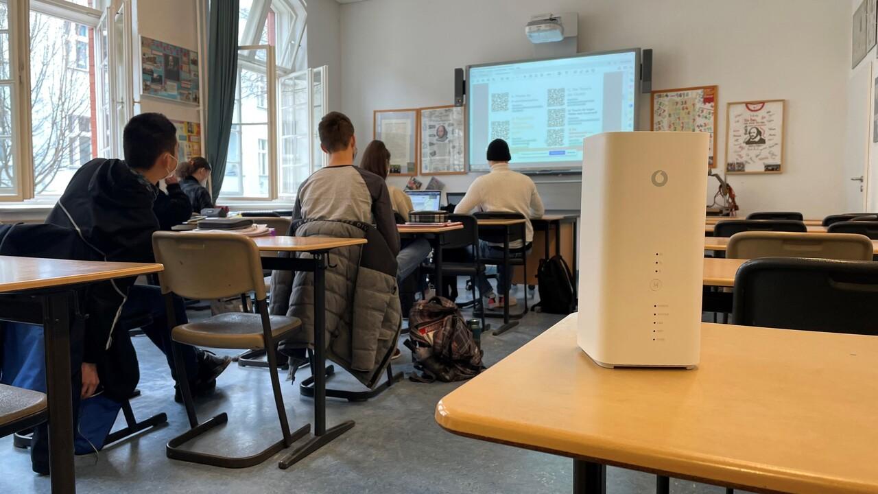 Berliner Schulen: 10.000LTE-Router statt Glasfaser als Zwischenlösung