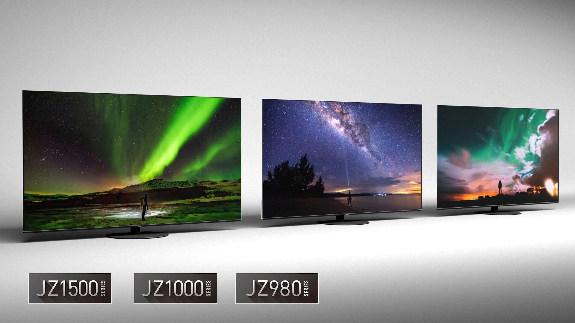 Die neuen OLED-Serien unterhalb des JZW2004