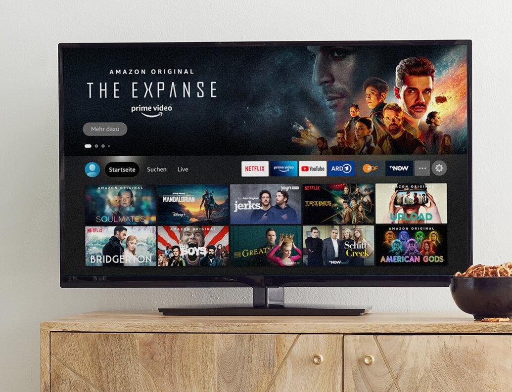 Neue Fire-TV-Oberfläche