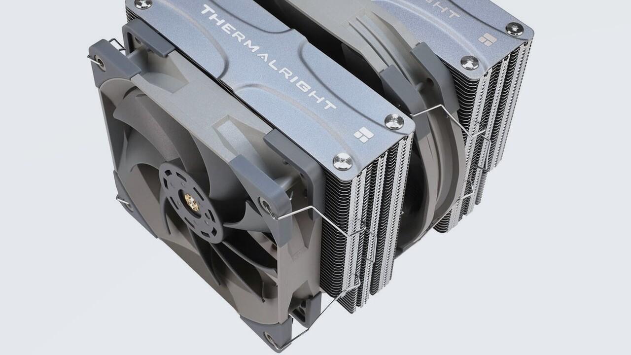 Frost Commander 140: Fünf 8-mm-Heatpipes beim Frost-Spirit-Zwilling