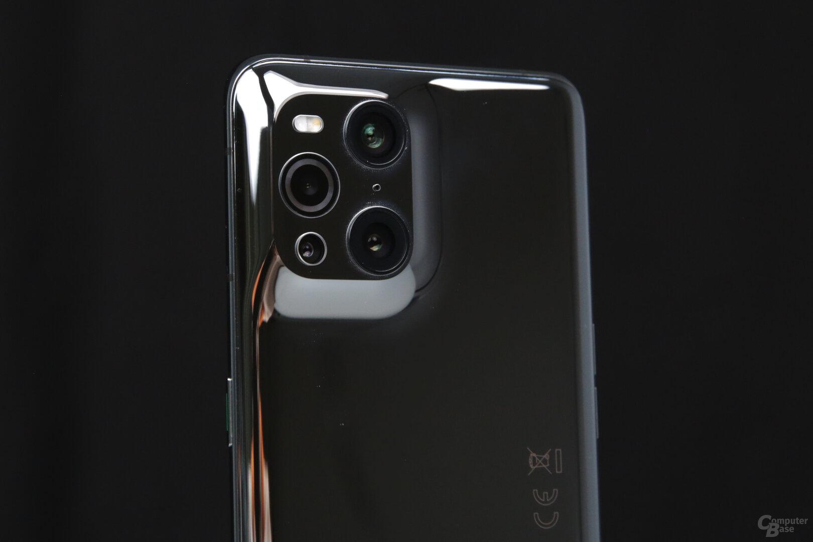 Nahtlos integriertes Kamerasystem