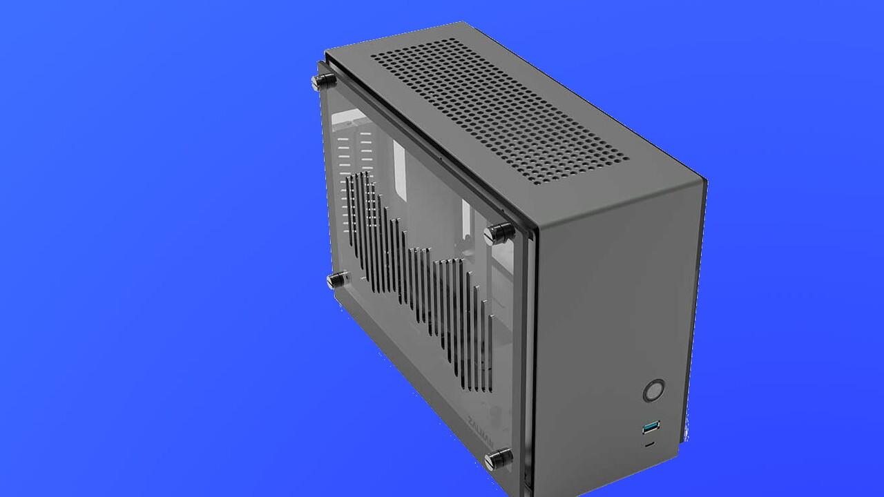 Zalman M2 Mini: SFF-Gehäuse setzt Luftschlitze in seine Fenster