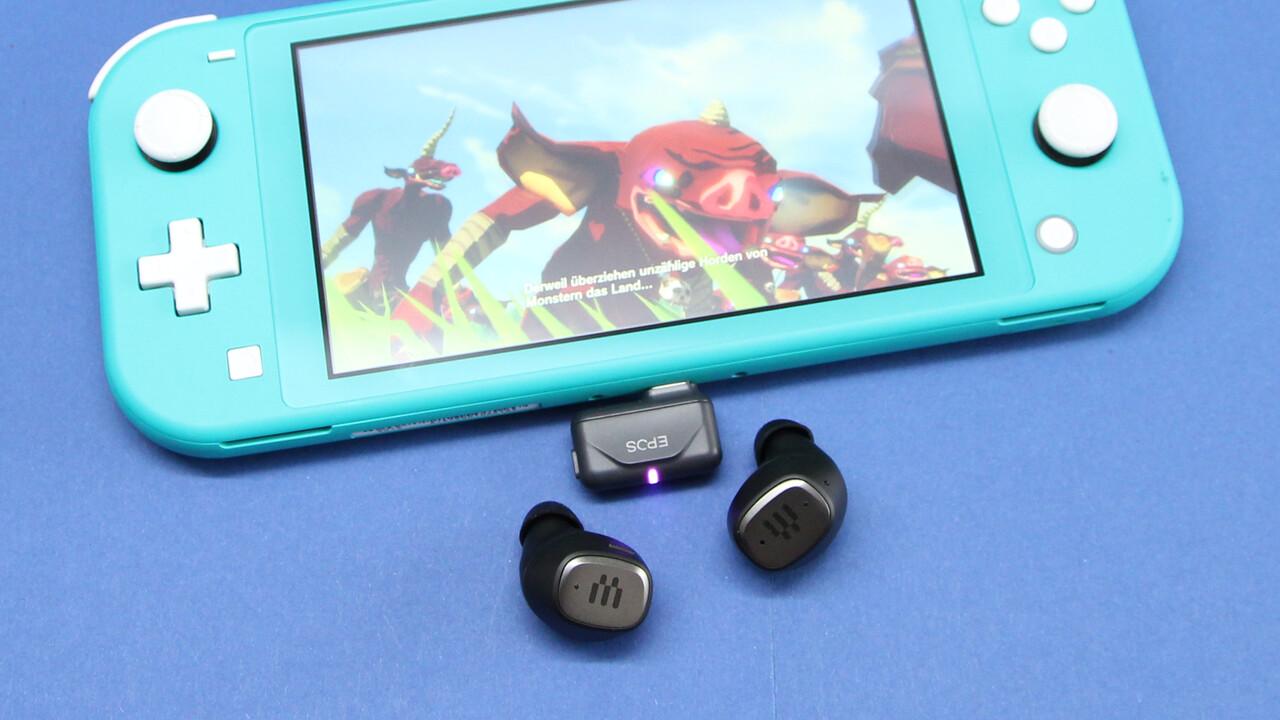 Epos GTW 270 Hybrid im Test: Die besten In-Ear-Kopfhörer für Spieler mit aptX-LL-Dongle