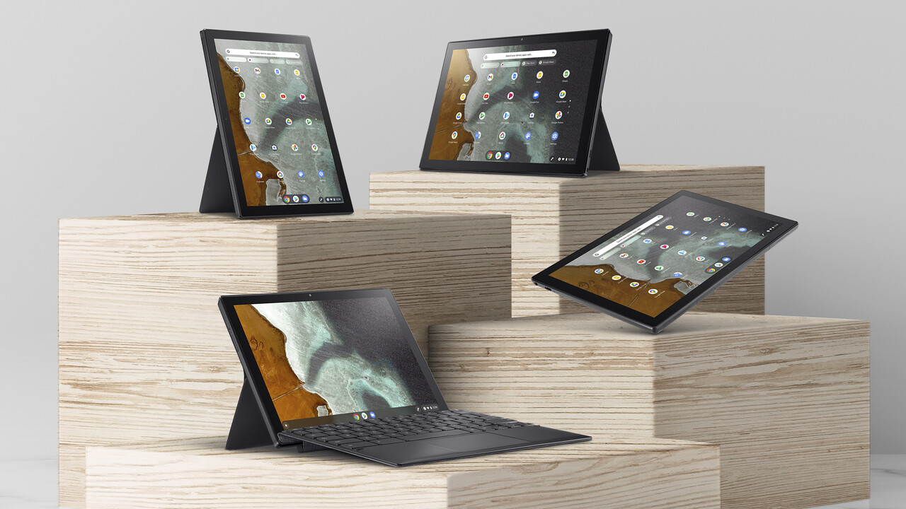 Chromebook CM3: Chrome-OS-Tablet mit Tastatur und Stift für 449 Euro