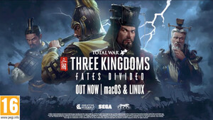 "Total War: Three Kingdoms: DLC ""Fates Divided"" für Linux und macOS erschienen"