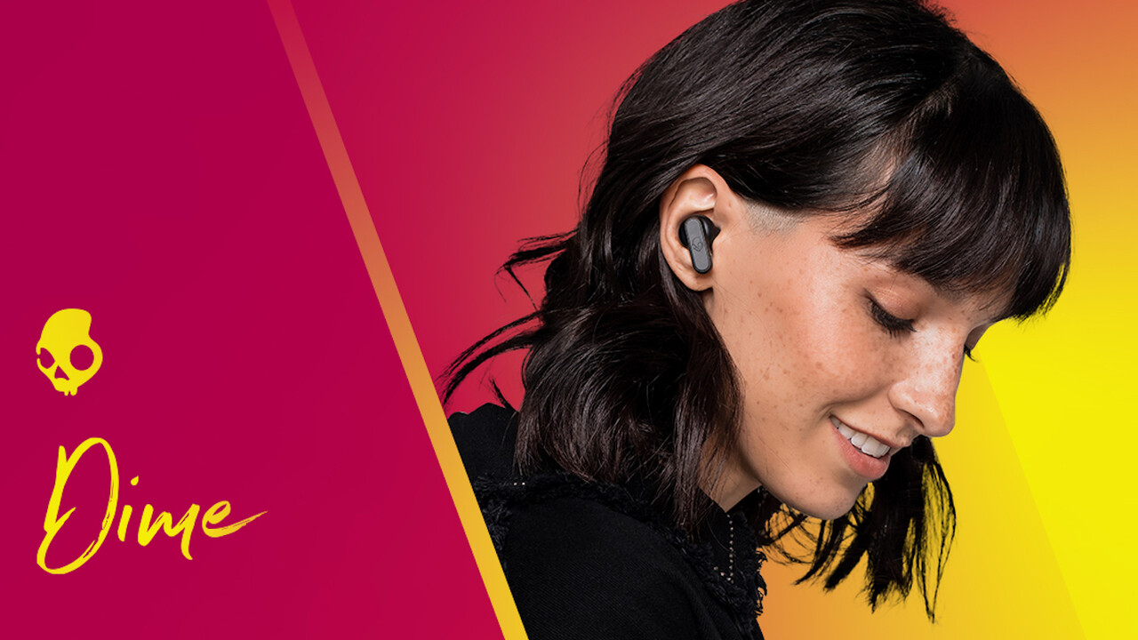 Skullcandy Dime: Kleine, kabellose In-Ear-Kopfhörer für 39,99 Euro
