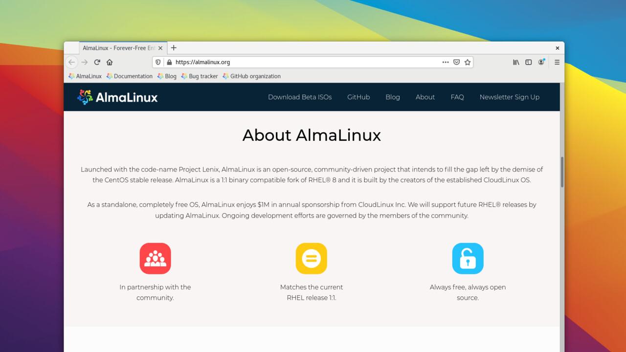 AlmaLinux OS 8.3: Das kostenlose Enterprise-Linux auf Basis von RHEL