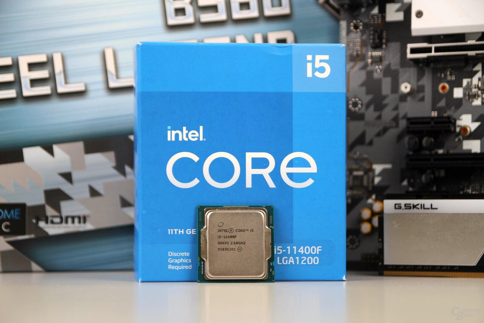 Intel Core i5-11400F im Test