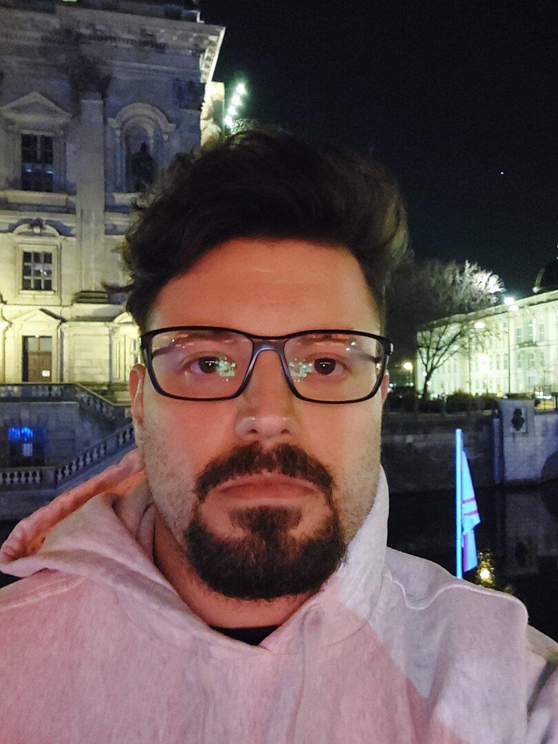 Galaxy A52 5G – Selfie (f/2.2, ISO 4000, 1/12s)